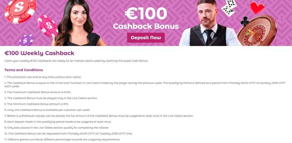 SlottoJAM Casino - €100 Weekly Cashback
