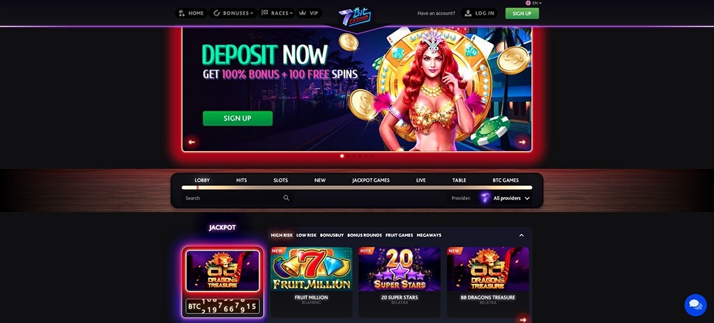 7Bit Casino – 2021 Full Review