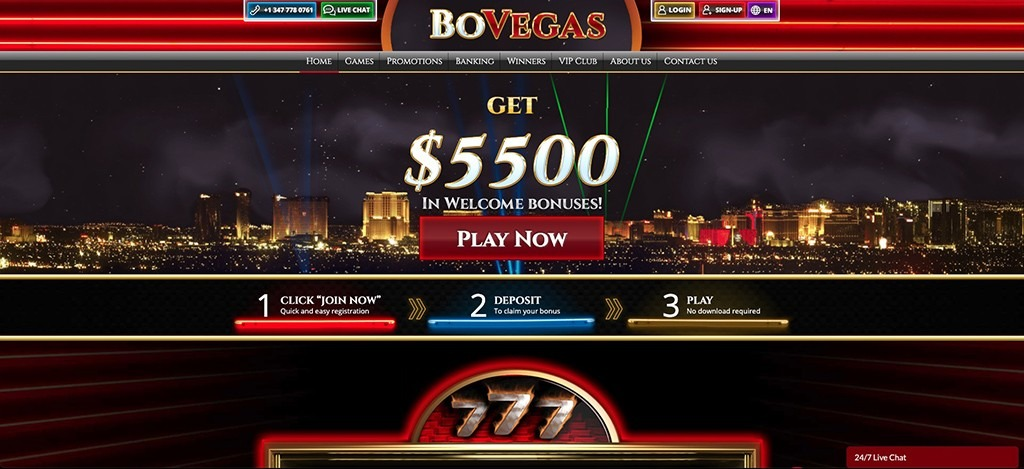 BoVegas Casino – 2021 Full Review