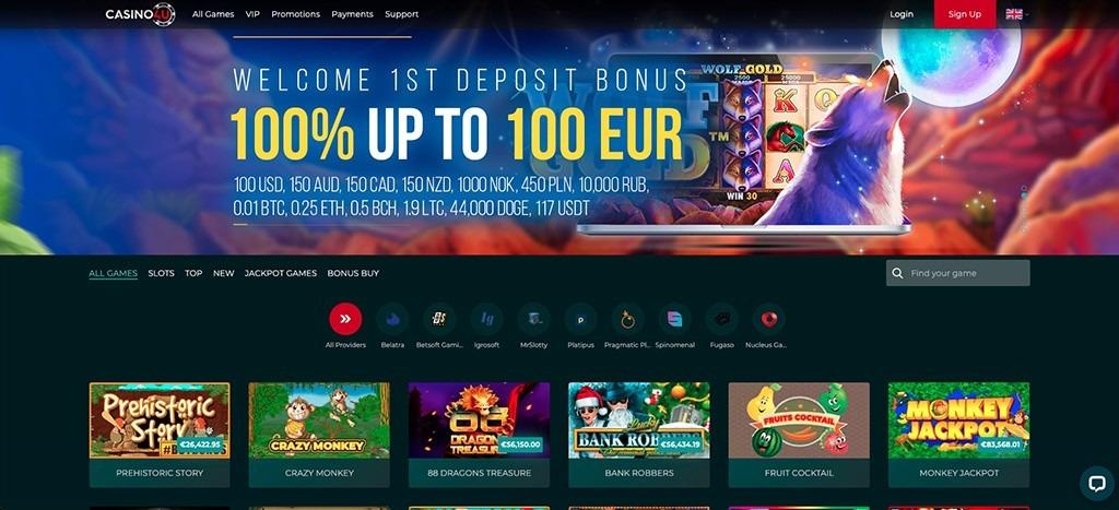 Casino4U Casino - 2021 Full Review