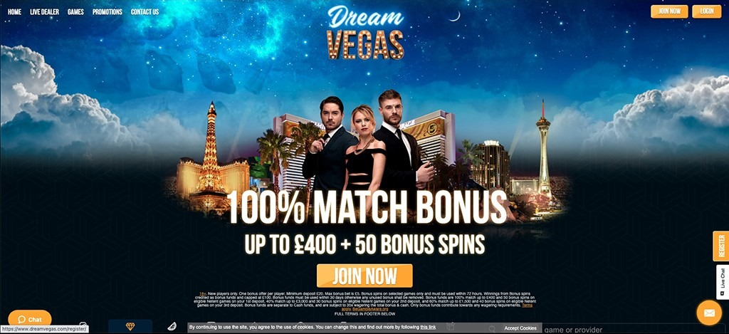 Dream Vegas Casino – 2021 Full Review