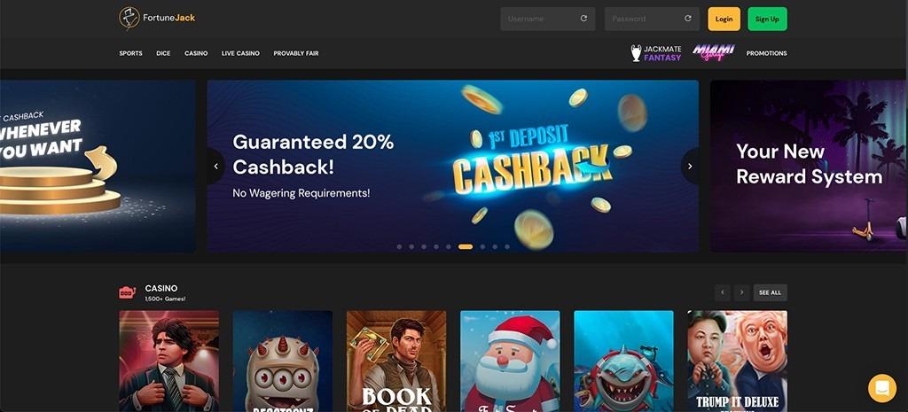FortuneJack Casino – 2021 Full Review