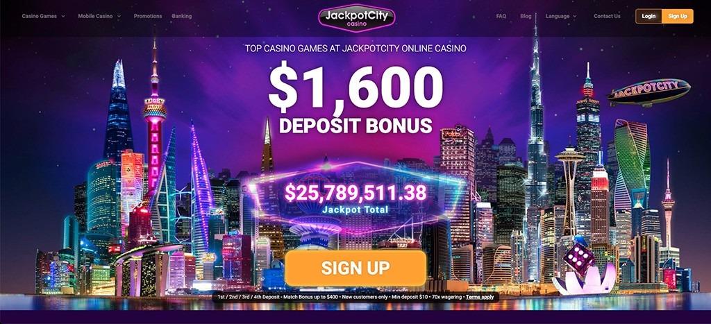 Jackpot Casino City – 2021 Full Review