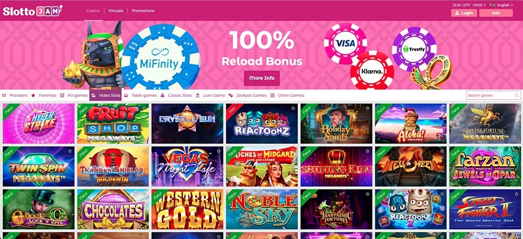 SlottoJam Casino – 2021 Full Review