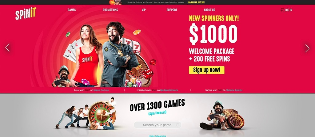 Spinit Casino - 2021 Full Review