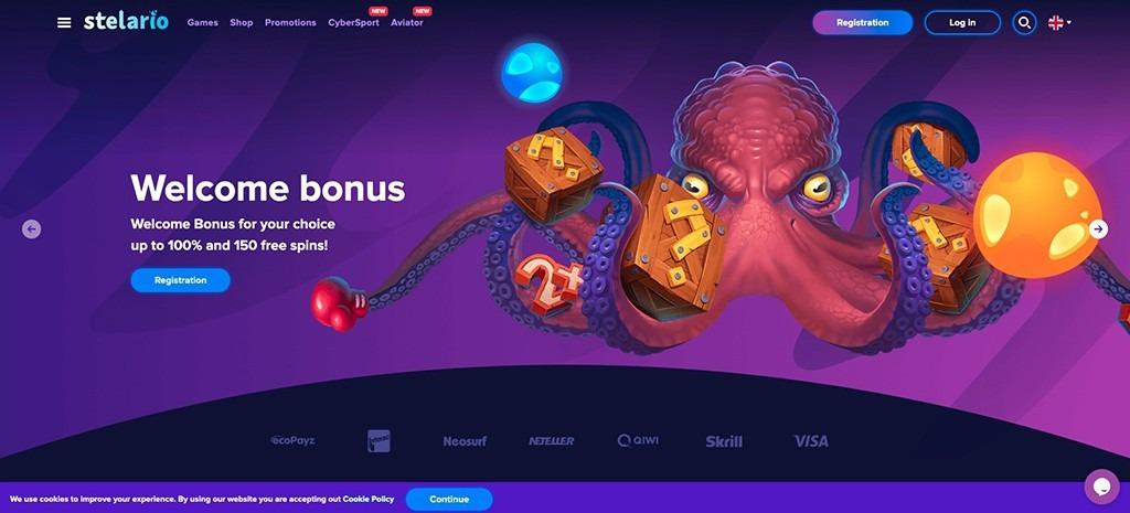 Stelario Casino - 2021 Full Review
