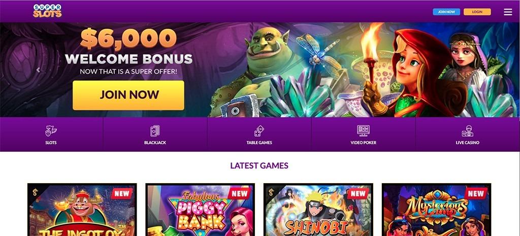 Super Slots Casino – 2021 Full Review