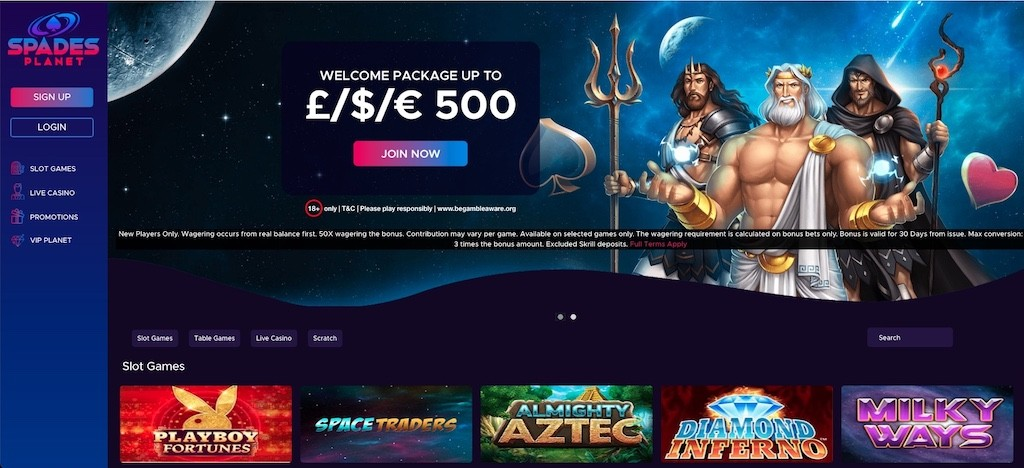 Spades Planet Casino - 2021 Full Review