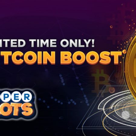 Super Slots Limited Time Bitcoin Boost Bonus