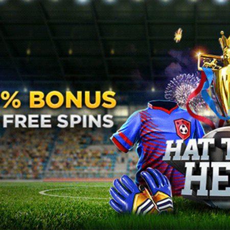 Wild Casino – Hat Trick Hero 250% Bonus + 20 Free Spins