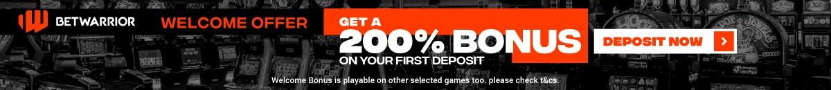 Bet Warrior Casino Welcome Offer